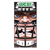 Beistle Football Door Cover, 30 by 5-Feet, Multicolor