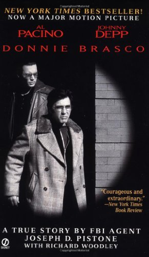 Book cover for Donnie Brasco