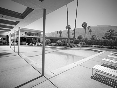 24 x 36 B&W Giclee Print of Frank Sinatra's Twin Palms Estate, a Spectacular Example of mid-Century Architecture in The Heart of Palm Springs, California 2013 Highsmith 63a (Frank Sinatra Palm Springs)