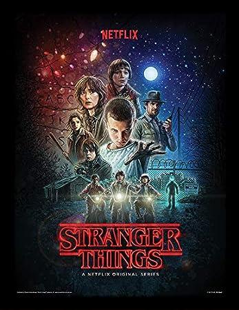 Amazon.com: Stranger Things Art Prints, multicolor, 11.8 x ...
