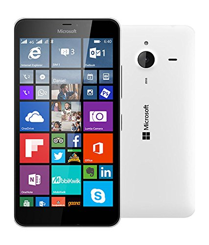 Microsoft Nokia Lumia 640 GSM Unlocked (Will NOT Work for Metro PCS) - White (Certified Refurbished)