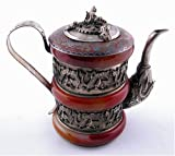 Red Jade Decorative Teapot