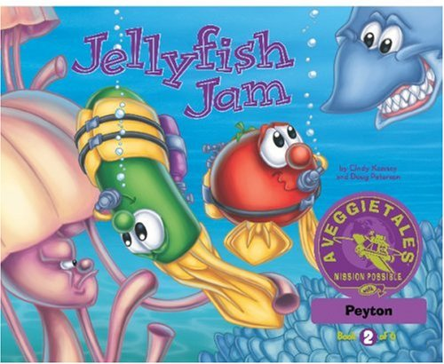 Jellyfish Jam - VeggieTales Mission Possible Adventure Series #2: Personalized for Peyton