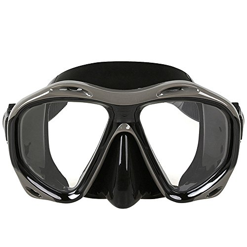 mens split fin snorkel set - 8