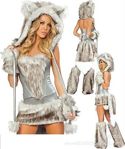 Evale (Naughty Santa Girl Costume)