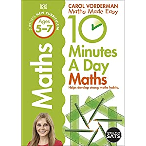 10-Minutes-a-Day-Maths-Ages-5-7-Key-Stage-1-Made-Easy-Workbooks-Paperback--17-Jan-2013