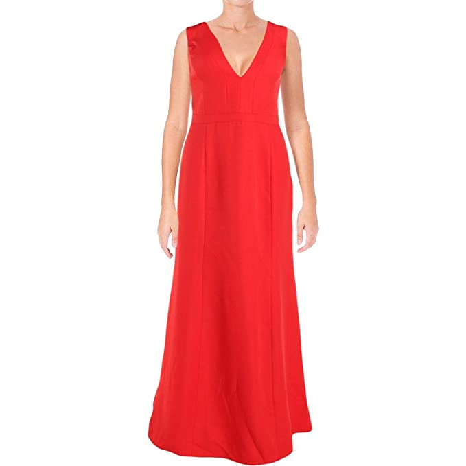 6e7a43f1a57 BCBG Max Azria Womens Riva Cut-Out V-Neck Semi-Formal Dress  Amazon.ca   Clothing   Accessories