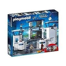 Playmobil City Action 6872 Police central de commandement avec prison