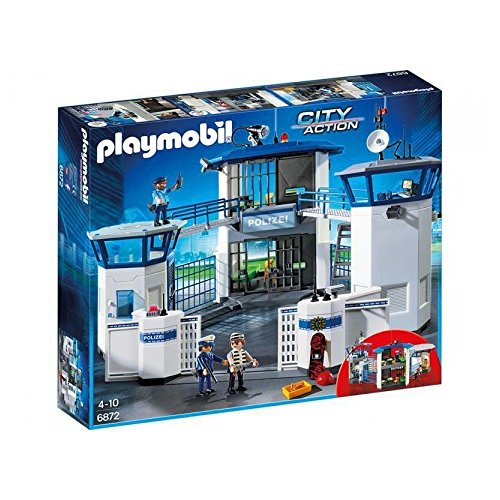 PLAYMOBIL® 6872 Police Command Center with Prison (Playmobil Headquarters)