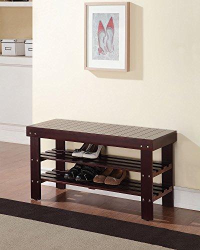 ACME Furniture 98165 Ramzi Bench, Espresso