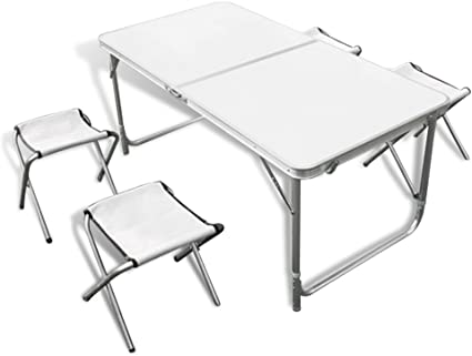SPEED Table pliante camping buffet traiteur portable