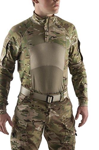 (MILITARY ISSUE US Army Multicam OCP Advanced Combat Shirt Type II 1/4 Zip Large)