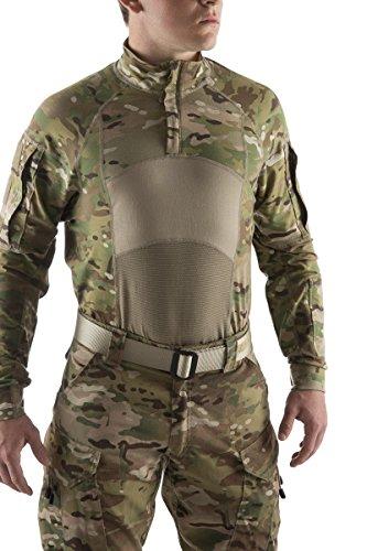 - US ARMY MULTICAM OCP ADVANCED COMBAT SHIRT TYPE II 1/4 ZIP MEDIUM