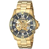 Invicta Men's 'Objet D Art' Automatic Stainless Steel Casual Watch, Color:Gold-Toned (Model: 22604)
