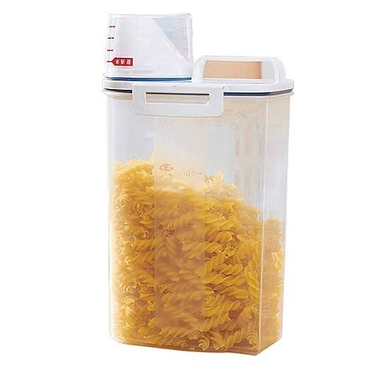 Rekkkles - Dispensador de Cereales para almacenar arroz, Caja de ...