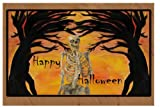 Halloween Skeleton Holiday Floor Mat Medium