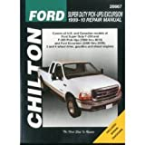 Chilton Super Duty Pick-Ups & Excursion 1999-2010 Repair Manual (26667)