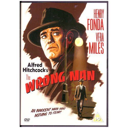 The wrong man Henry Fonda vintage movie poster
