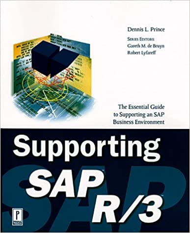 Supporting SAP R//3