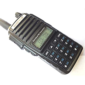 Baofeng UV-82 Walkie Talkie 136-174MHz 400-520Mhz UV82 Dual Band Amateur Ham Handheld Two Way Radio UV 82