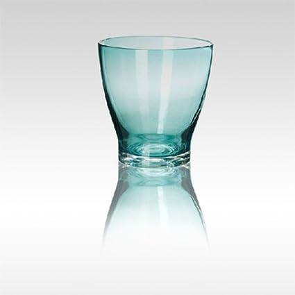 Creativo surtido handblown enfriar agua de gran capacidad de plomo-botella de vidrio libre bebidas