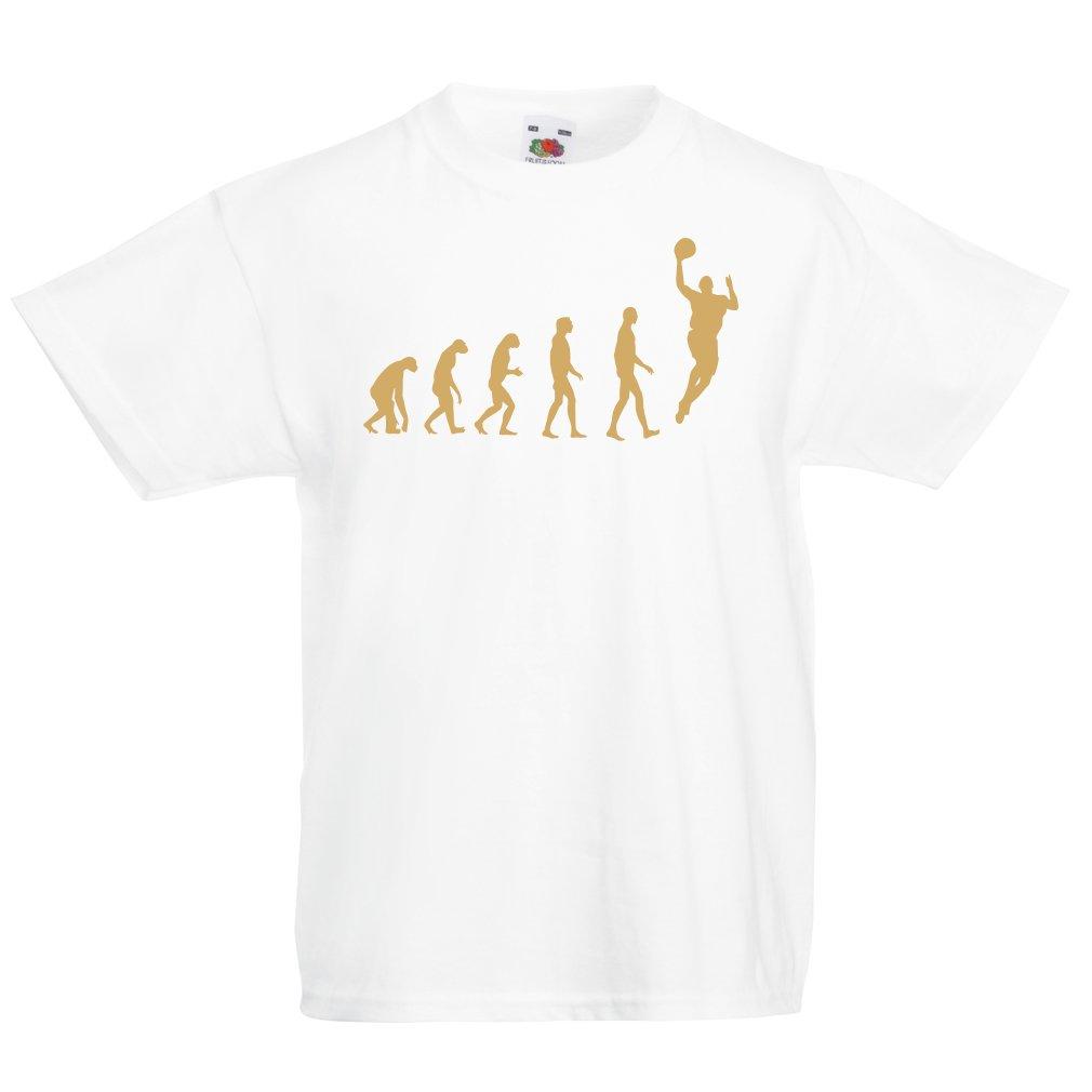 Camisas para Niños Evolución de Baloncesto - Canasta de La Calle, Me Encanta Este Juego, Gran Fan de Regalo: Amazon.es: Ropa y accesorios