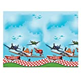Disney Unique Party Amscan Iternational Planes Plastic Tablecover