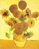 Vase with Fifteen Sunflowers Art Print Poster by Vincent Van Gogh