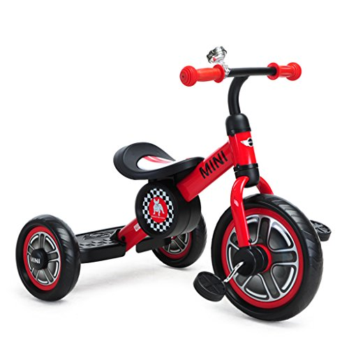 's Tricycle Child Bicycle Trike Tricycle  Ride-On Bike Toy Tricycle Infant Bicycle Need to Install Balanced Tricycle 2-5 Years Old Inflatable Movement Puzzle Baby Carriage Walker ()