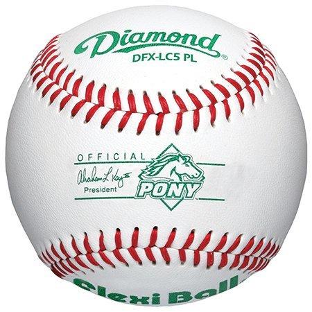 Diamond Pony Liga Flexi pelota pelotas de béisbol (docena) dfx-lc5 ...
