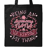 Inktastic - Awesome Nana Grandmother Gift Tote Bag Black 2f31a