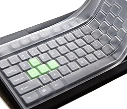 CaseBuy Standard Fullsize Anti Dust Waterproof Silicone Gel Keypad Keyboard Cover Protector Skin for PC Computer Desktop(Please compare your keyboard to IDENTIFY image avoid buying wrongly)
