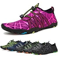 Water Shoes Mens Womens Beach Swim Shoes Quick-Dry Aqua...