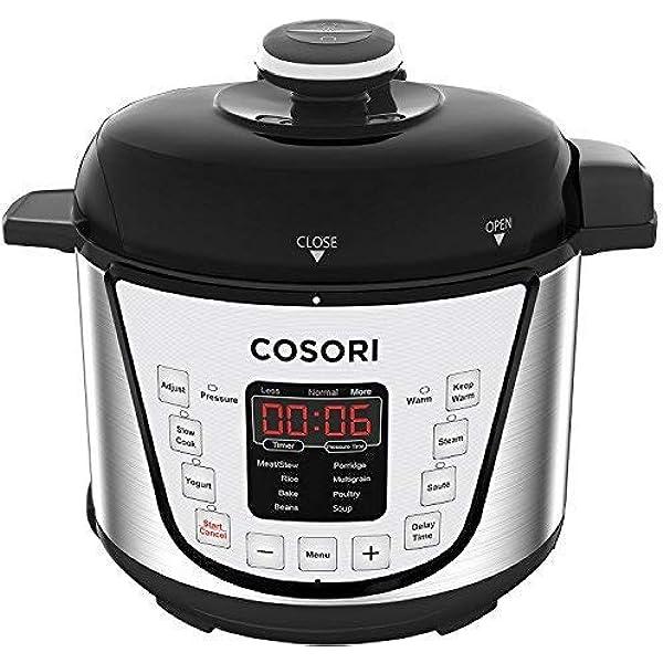 Amazon.com: COSORI C2126-PC Cook & Carry Digital Slow Cooker ...