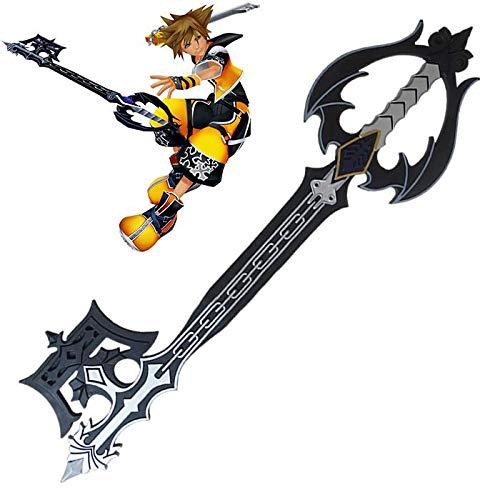 RealFireNSteel Kingdom Hearts - Oblivion Keyblade (LARP Friendly) ()