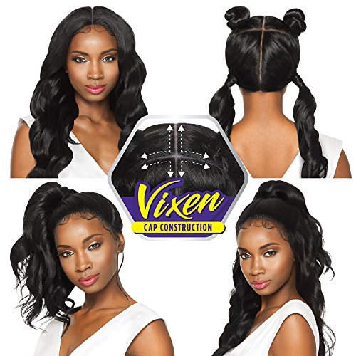 Loose Swiss - Outre Synthetic Hair Lace Front Wig 4Way Part Swiss X Vixen Loose Wave (4)