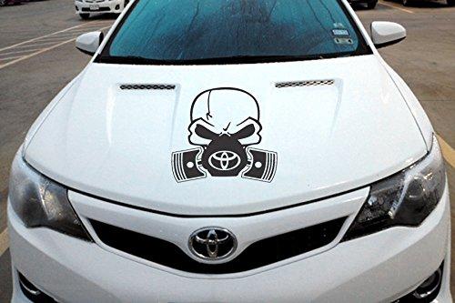 (Toyota Hood Pistons Decal Vinyl Sticker TRD Car Truck SUV)