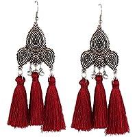 Misaky Fashion Tassel Earrings Women Fringe Dangle Earrings
