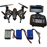 Blomiky JXD 516W 15 Minutes flying Time WIFI FPV RC Quadcopter Drone with Camera Headless Altitude Hold with 7.4V 850mAH 516W Black