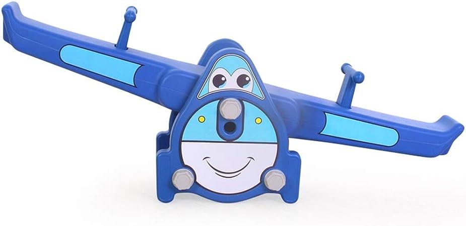 Yamyannie-Sports Infantil Balancín Balancín Juguete Doble Kinder Interior Y Exterior (Color : Azul, tamaño : 130x37x31cm): Amazon.es: Hogar