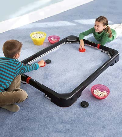 Simtec PowerBand Air Hockey Tabletop Game (Power Air Hockey)