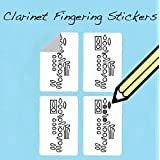 Clarinet Fingering Stickers Set (250 Pack) Super handy for students and teach...