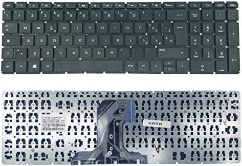 kb.i170a.155 Tedesco nero Tastiera Keyboard Compatibile Per P//N