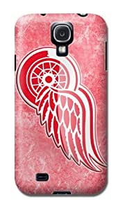 NHL Detroit Red Wings Hard Clear Back Cover Snap On Case For Samsung Galaxy S4 I9500 BY RANDLE FRICK by heywan