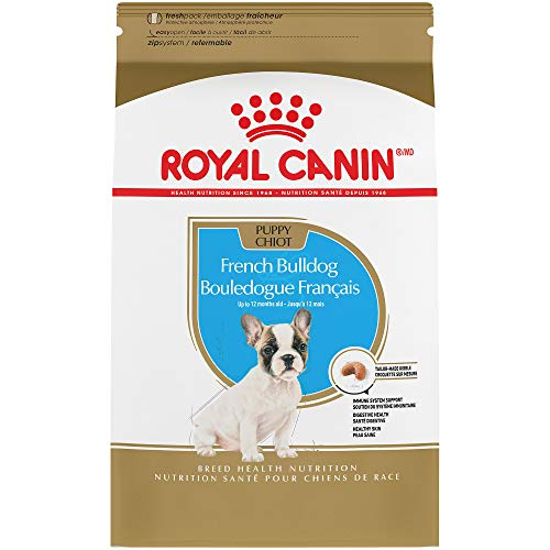 Royal Canin 111103 Breed Health Nutrition French Bulldog Puppy Dry Dog Food, 3  Lb