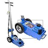 Neiko 31008B Portable Air Hydraulic Jack | Wheel Operated | 22 Ton Capacity