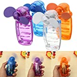 Alamana Portable Mini Handheld Transparent Battery Powered Travel Outdoor Cooling Fan Cooler Birthday Gift