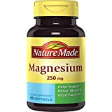 Nature Made Magnesium 250 Mg Softgel, 90 Count