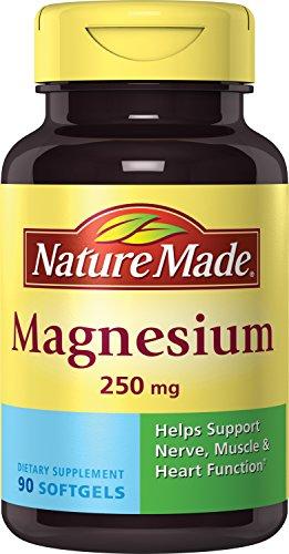 Nature Made Magnesium 250 mg Softgels 90 Ct