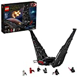 LEGO Star Wars: The Rise of Skywalker Kylo Ren's Shuttle 75256 Star Wars Shuttle Action Figure Building Kit, New 2019 (1,005 Pieces)